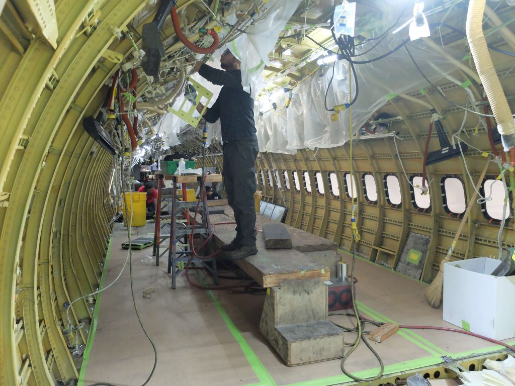 Avionics upgrades during conversions to ensure technical conformity for newly acquired aircraft.