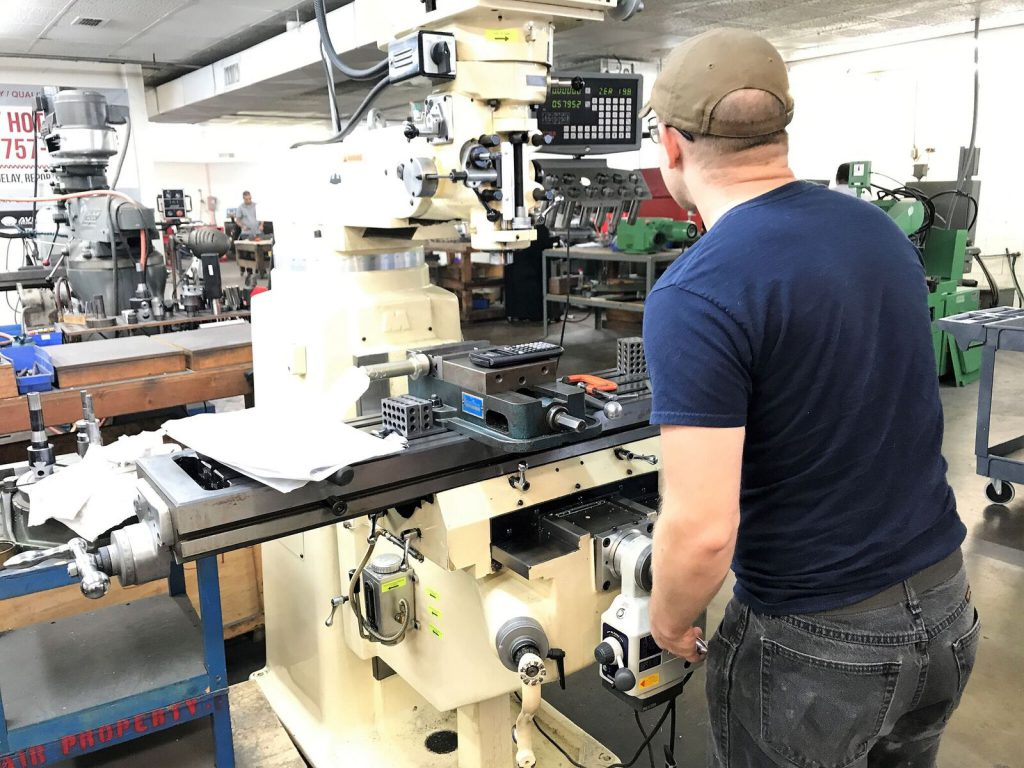 Our precision machining and repair facility can repair, modify or replace your worn and damaged components and return them to OEM factory specifications.