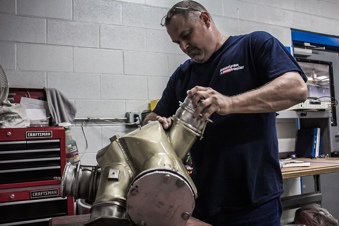 Setting up A320 reheater for pre- pressure and flow testing