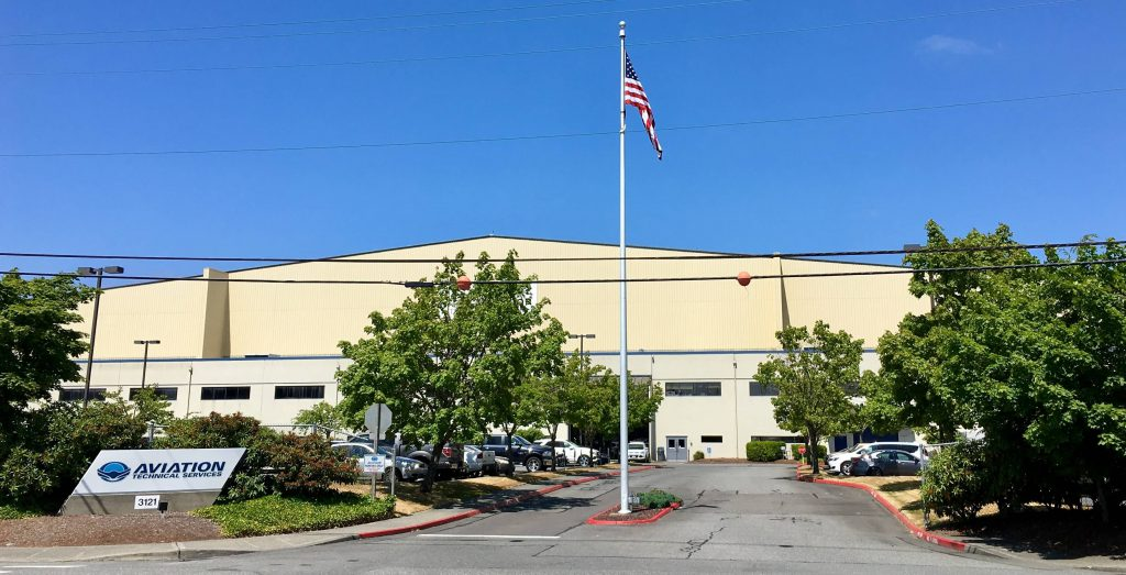 Corporate Offices / Hangar 1- Everett