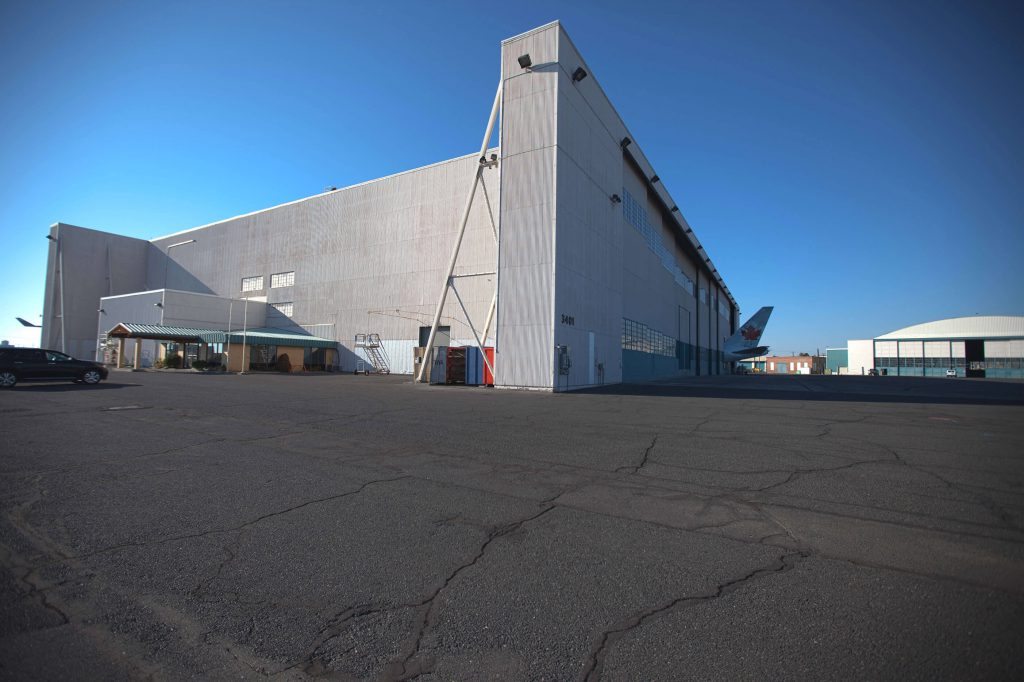 Moses Lake, WA – rear of main hangar