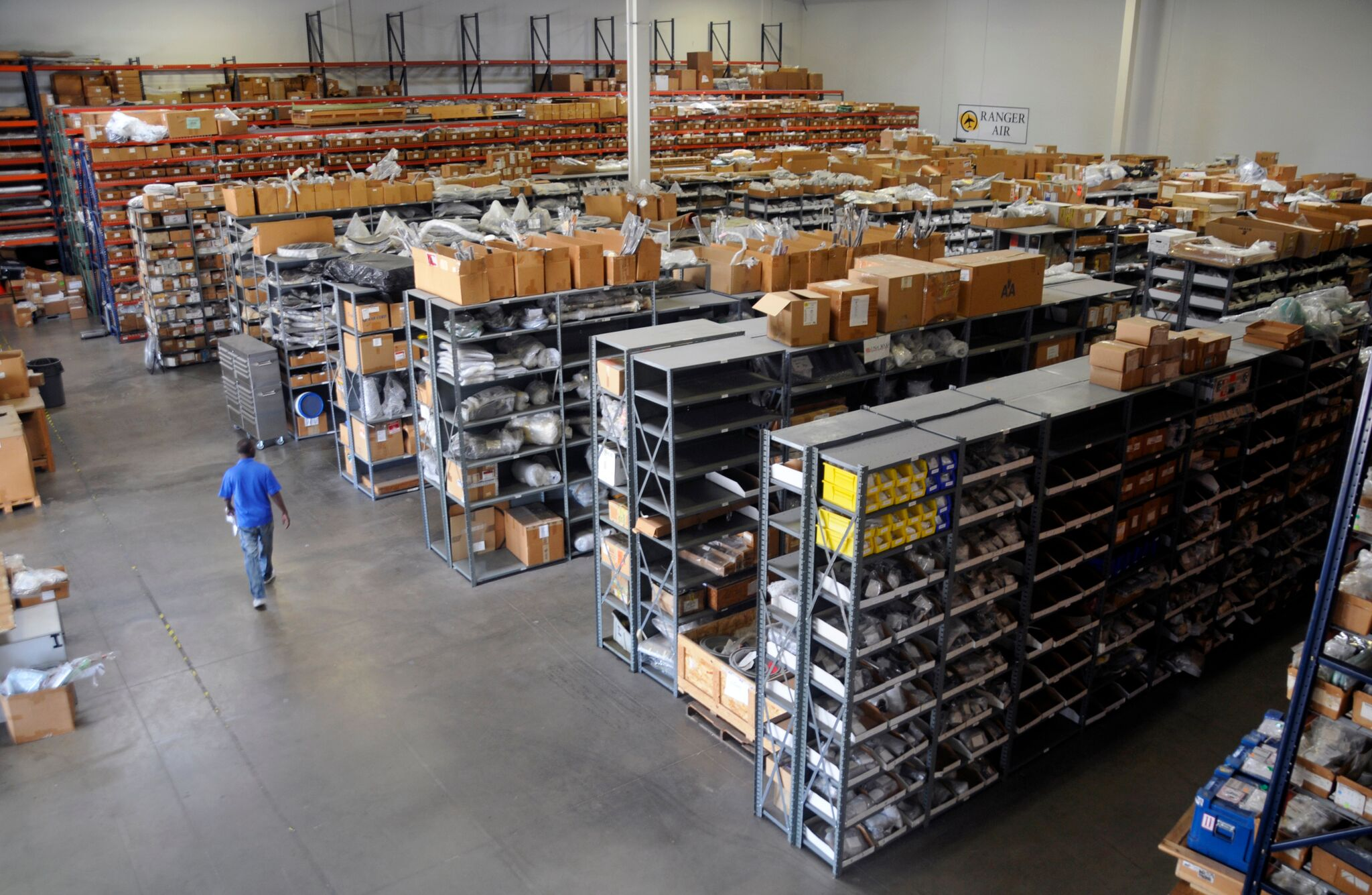 We stock and trade in virtually every commercial airframe and engine rotable in the world